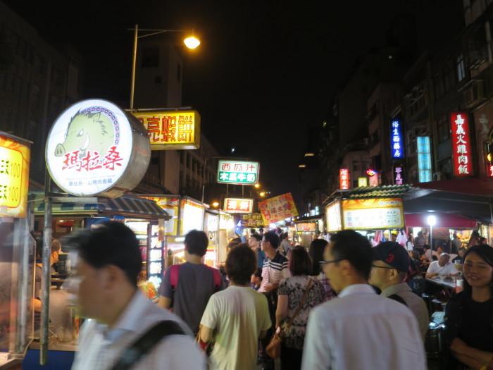 台湾 寧夏夜市