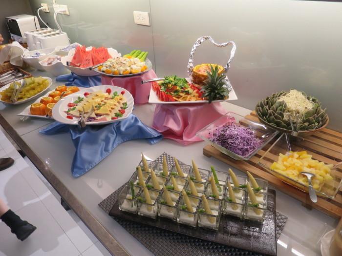 台湾 ホテル朝食