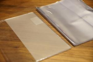 透明のカバーケースも今までの物より、断然綺麗!