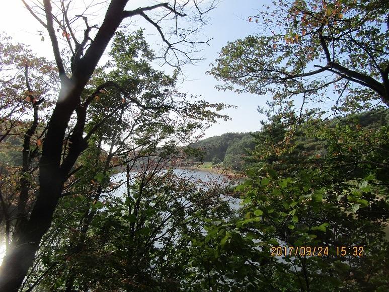 羽根川湖水1
