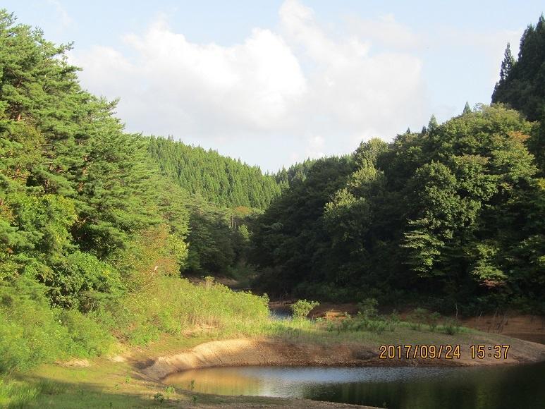 羽根川湖水2