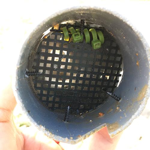 DIYで打ち抜き井戸を掘る!③ ~簡単作成穴掘り機~⑤