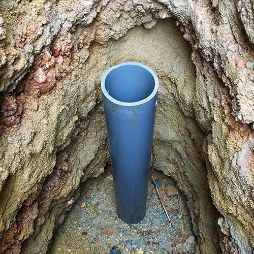 DIYで打ち抜き井戸を掘る!③ ~簡単作成穴掘り機~⑥