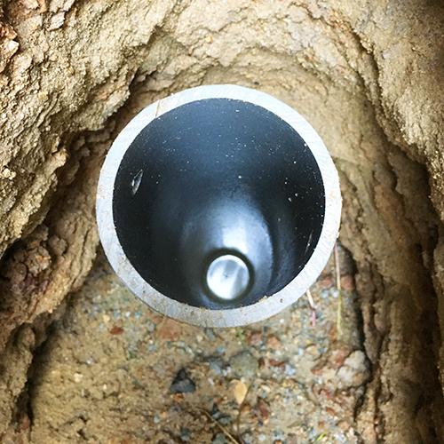 DIYで打ち抜き井戸を掘る!③ ~簡単作成穴掘り機~⑧