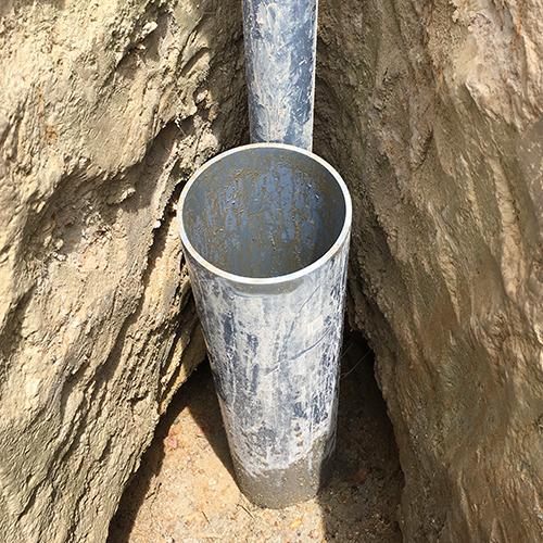 DIYで打ち抜き井戸を掘る!④ ~塩ビ管~⑤