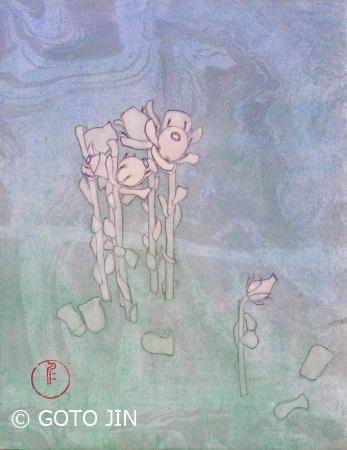 「ギンリョウソウ」(F0号)後藤仁