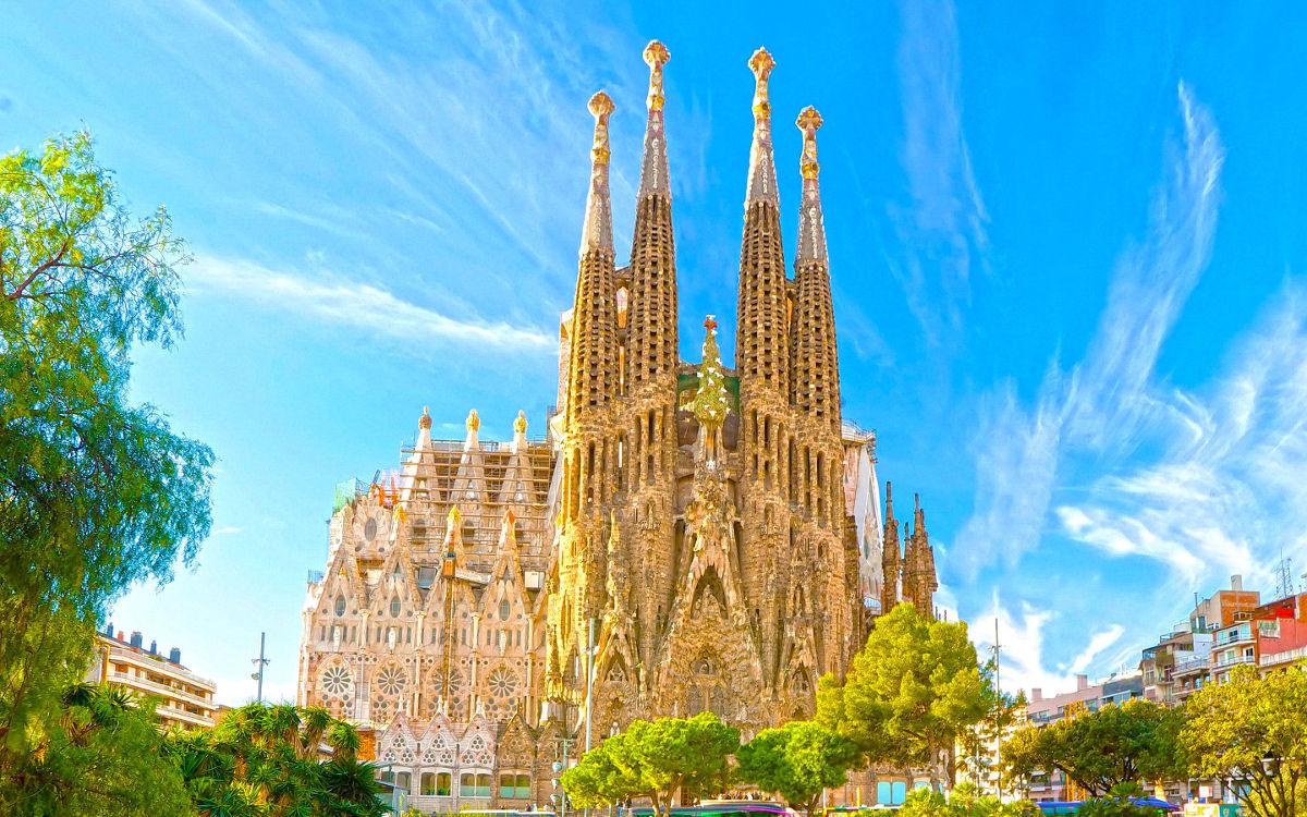 世界1周 スペイン バルセロナ到着 サグラダ ファミリア