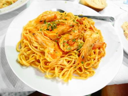 シュリンプスパゲティ