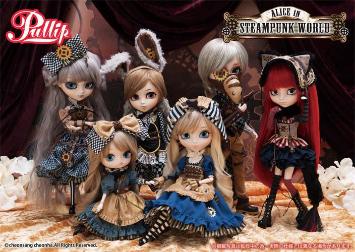 Alice in Steampunk World