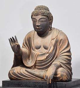 国宝 木造弥勒仏坐像 9c東大寺