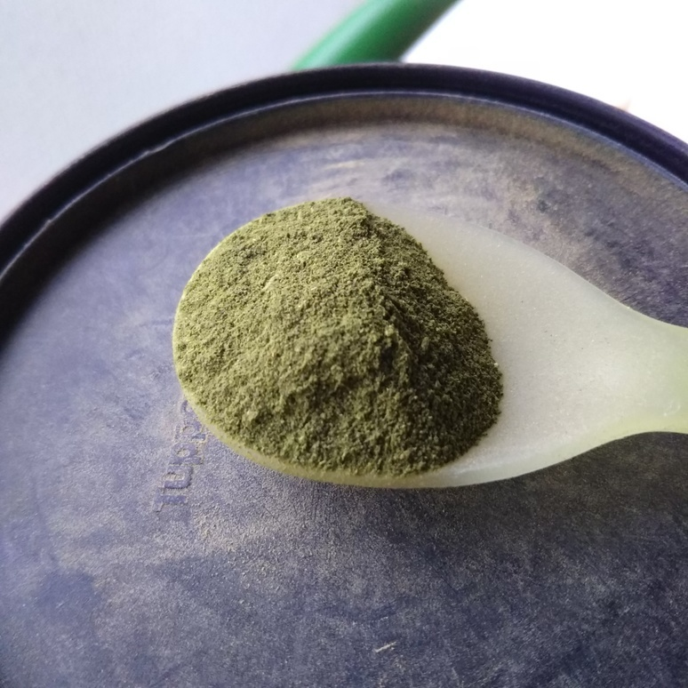 Powdered green tea 20170927
