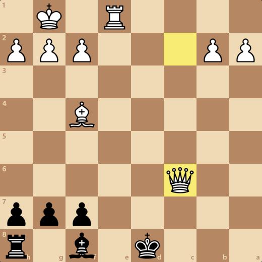 8/7のゲーム。28手で負け。消費時間3分54秒(時間切れ)