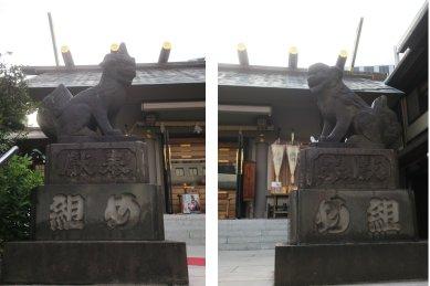 芝大神宮・狛犬