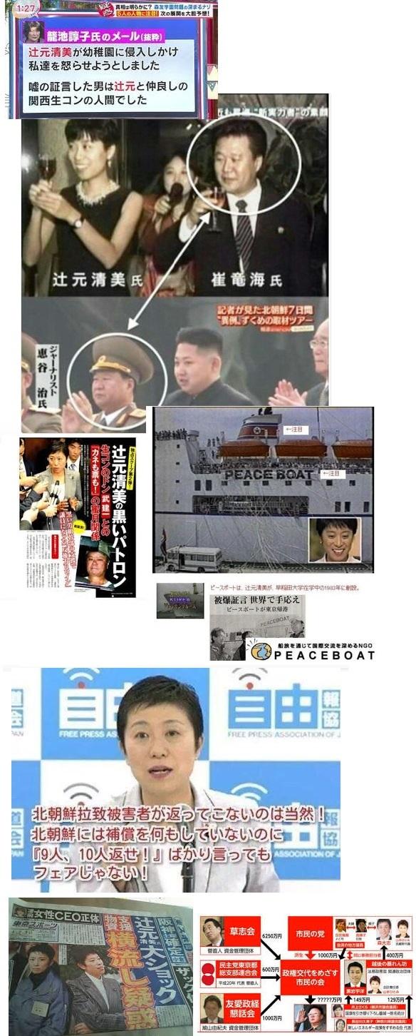 辻元と北朝鮮1