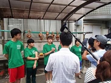 テレビ取材様子5
