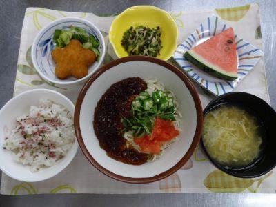 20170707 名城 七夕の季節食1