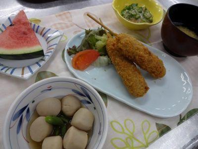 20170714 名城 焼き鳥・串カツ選択食2