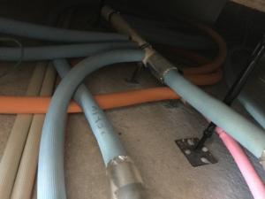 北海道の水道配管