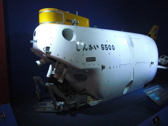 10 深海6500の模型_20170810