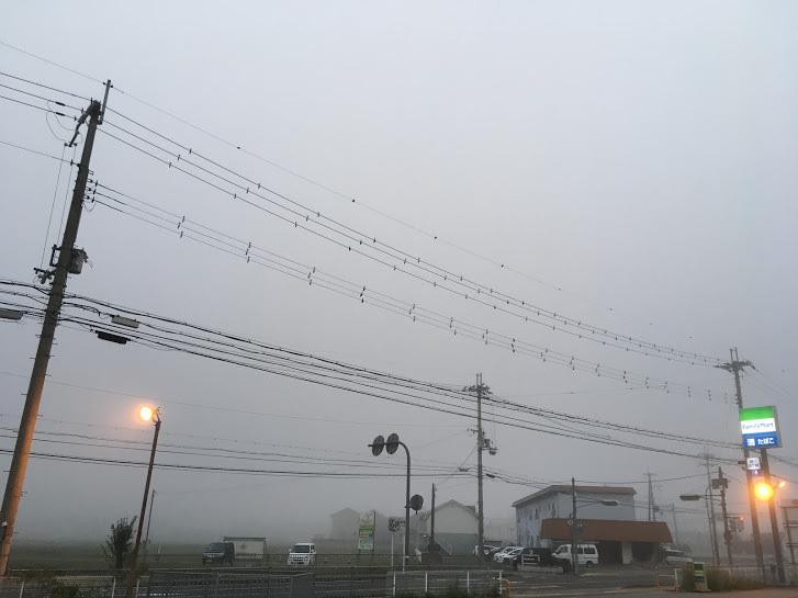 2017篠ヶ峰/霧