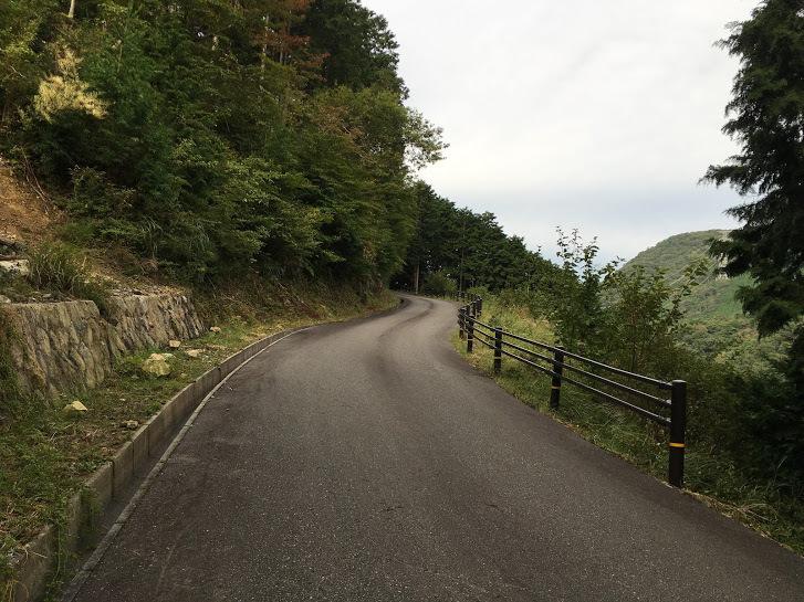 2017篠ヶ峰/道路
