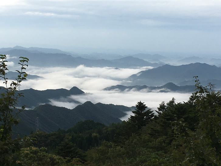 2017篠ヶ峰/雲海