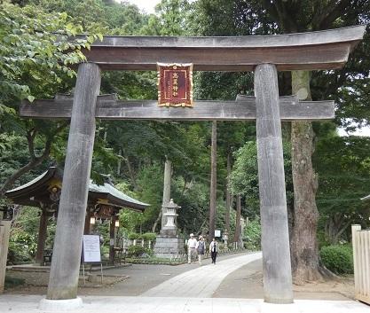 高麗神社 鳥居