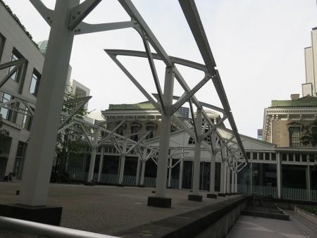 旧新橋停車場 プラットフォーム