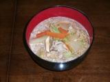 味の坊 豚味噌ちゃんこラーメン 調理例