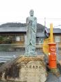 JR醒ケ井駅 霊仙三蔵像