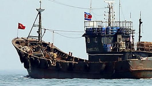 北朝鮮の船