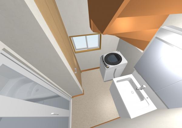 041階段下洗面室収納あり_パース