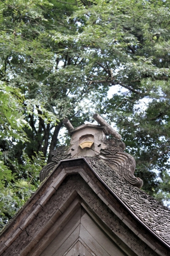 十二所神社の御本殿