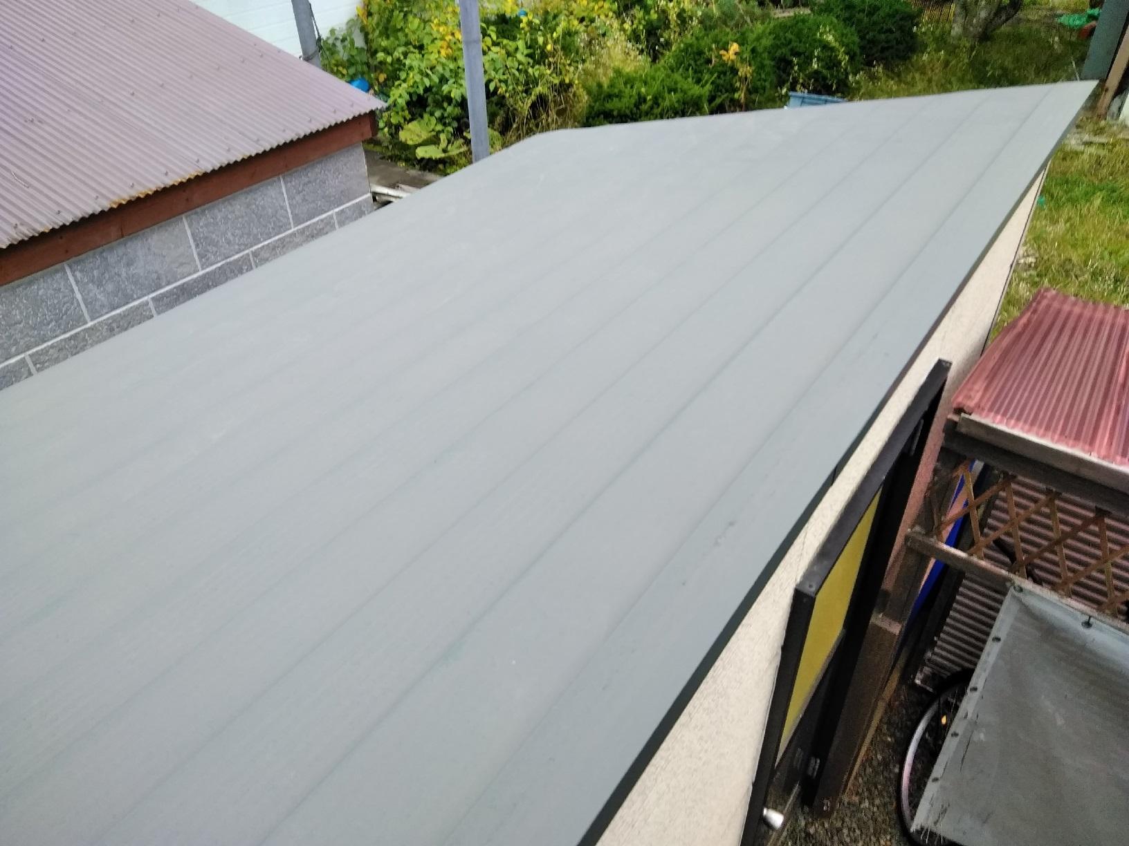 国誉M様邸 物置屋根 塗装前