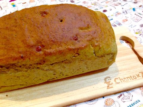 【キャラメルチョコチップ×抹茶】豆腐パウンドケーキ