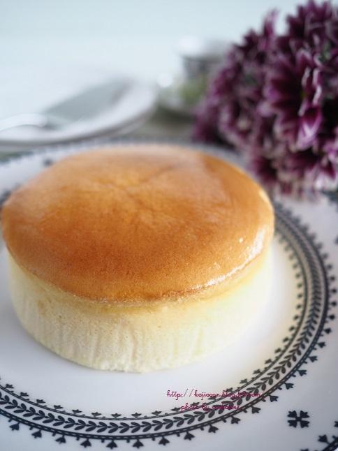 スフレ チーズ ケーキ 割れる