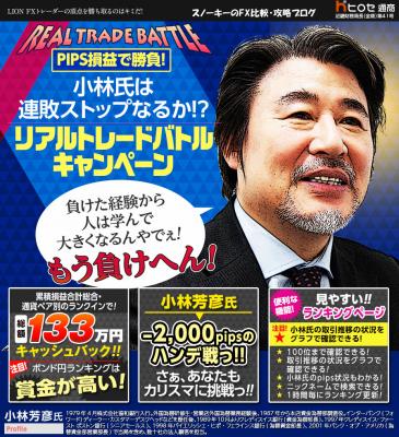 ヒロセ通商 リアルトレードバトルキャンペーン2017年7月