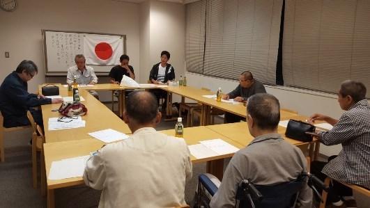 平成二十九年九月政治政策委員会