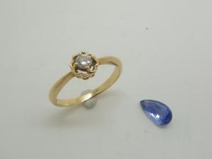 ダイヤとサファイヤをリフォーム1