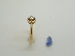 ダイヤとサファイヤをリフォーム2