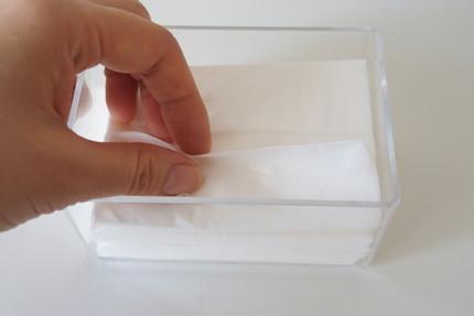 100円ショップ ポケットティッシュケース