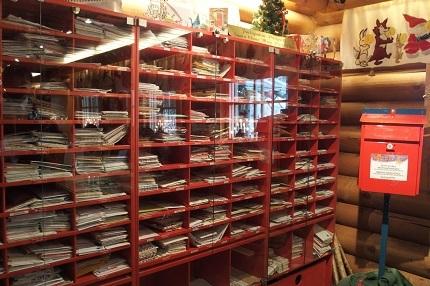 サンタクロース村 郵便