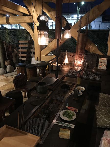 囲炉裏 渋川市