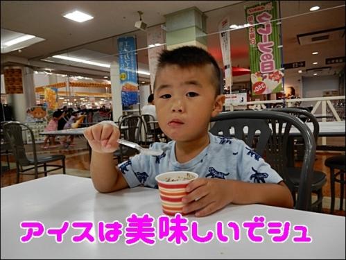 アイスは美味しいです