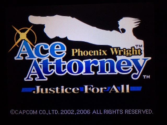 逆転裁判2 北米版 始まりの時1