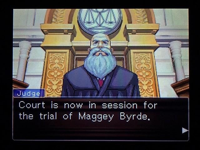 逆転裁判2 北米版 弁護士以下の男2