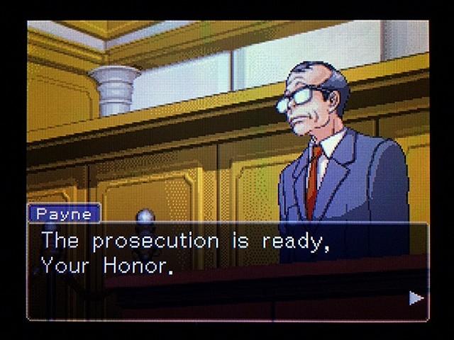 逆転裁判2 北米版 弁護士以下の男3