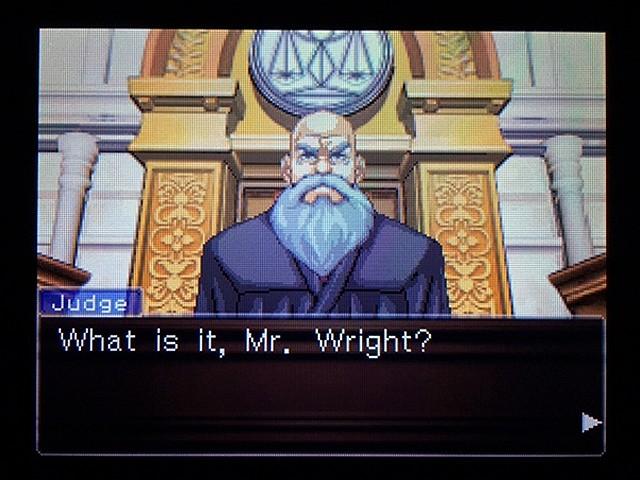 逆転裁判2 北米版 弁護士以下の男5