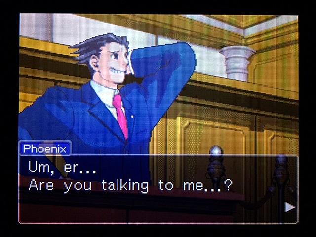 逆転裁判2 北米版 弁護士以下の男6