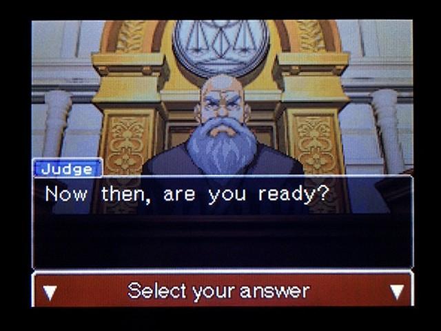 逆転裁判2 北米版 弁護士以下の男9